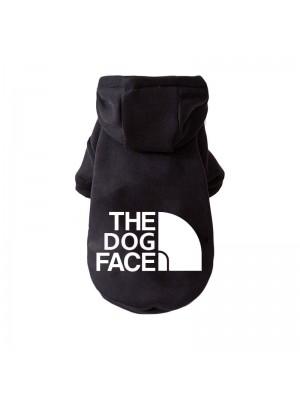 """DŽEMPERIS ŠUNIUI """"THE DOG FACE"""" (JUODAS)"""