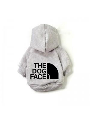 "DŽEMPERIS ŠUNIUI ""THE DOG FACE"" (PILKAS)"