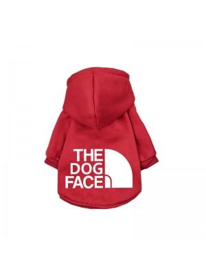 """DŽEMPERIS ŠUNIUI """"THE DOG FACE"""" (RAUDONAS)"""