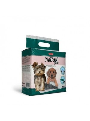 Pet Pad Plus palutės šunims su anglimi 60x60 cm (10vnt)