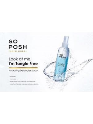 SO POSH Hydrating Detangler Spray (Sąvėlų purškiklis) 250ml