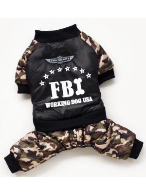 """ŽIEMINIS KOMBINEZONAS DIDESNIAM ŠUNIUI """"FBI"""""""