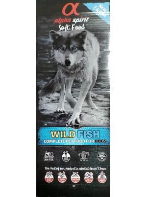 ALPHA SPIRIT WILD FISH drėgnas žuvies pašaras šunims 200g