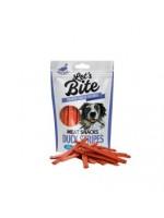 Brit Care Lets Bite Duck Stripes  skanėstas šunims 80g