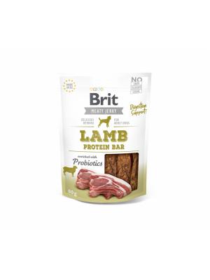 Brit Jerky Lamb Protein bar skanėstas 80g