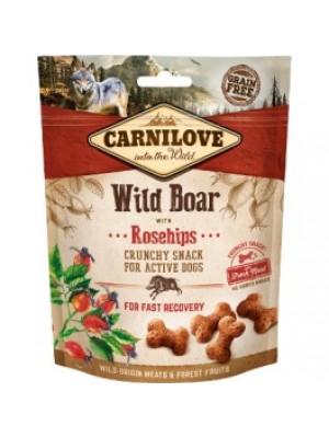 Carni love begrūdžiai skanėstai šunims Wild Boar with Rosehips 200g