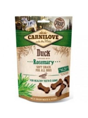 Carni love begrūdžiai skanėstai šunims Duck with Rosemary 200g