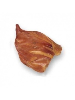 Natūralus kramtalas šunims ruda kiaulės ausis 1 vnt (60-65g)