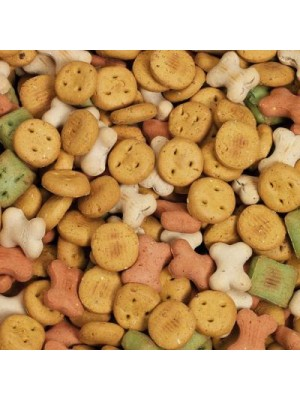 Sausainiai šunims HIP-DOG Colourful Mix 200g