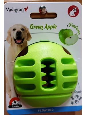VDG TPR Aplle Green Ball skanėstų kamuolys didesniam šuniui 8cm