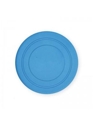 Žaislas šunims guminė skraidanti lėkštė (mėlyna), 18 cm